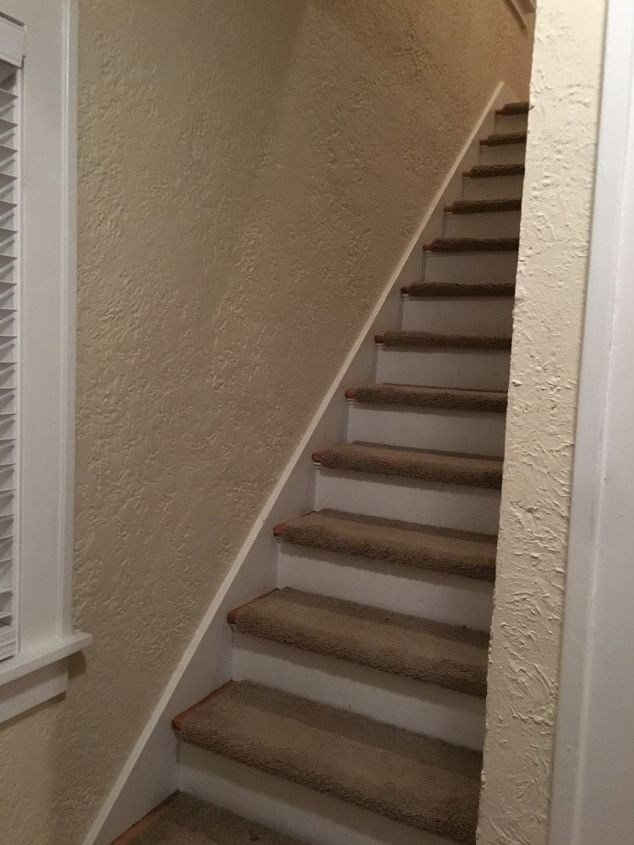 How To Add A Handrail To A Narrow Staircase Hometalk