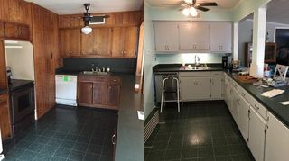 The Day We Bought House Vs New Cabinet Colors And Hardware