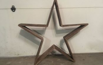Quick Reclaimed Wooden Star for Indoor/outdoor Decor