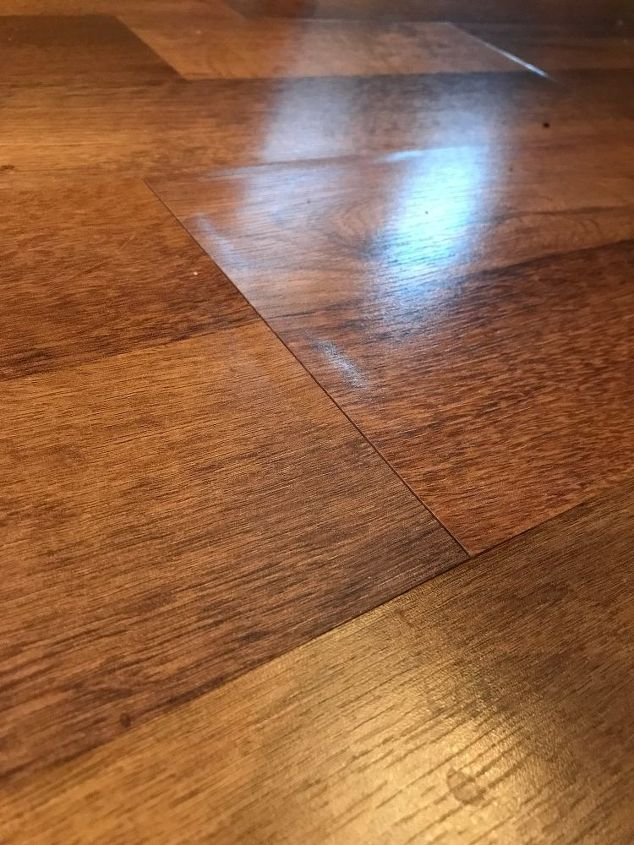 q any ideas for making a laminate wood floor look better