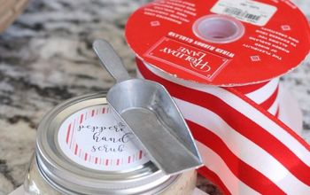 Crafters Peppermint Hand Scrub
