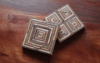 Coasters Made Out of (scrap) Plywood