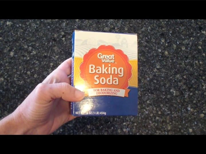 how to clean your home with baking soda