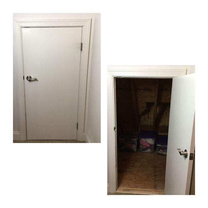 Insulating A Crawl E Attic Door Hometalk