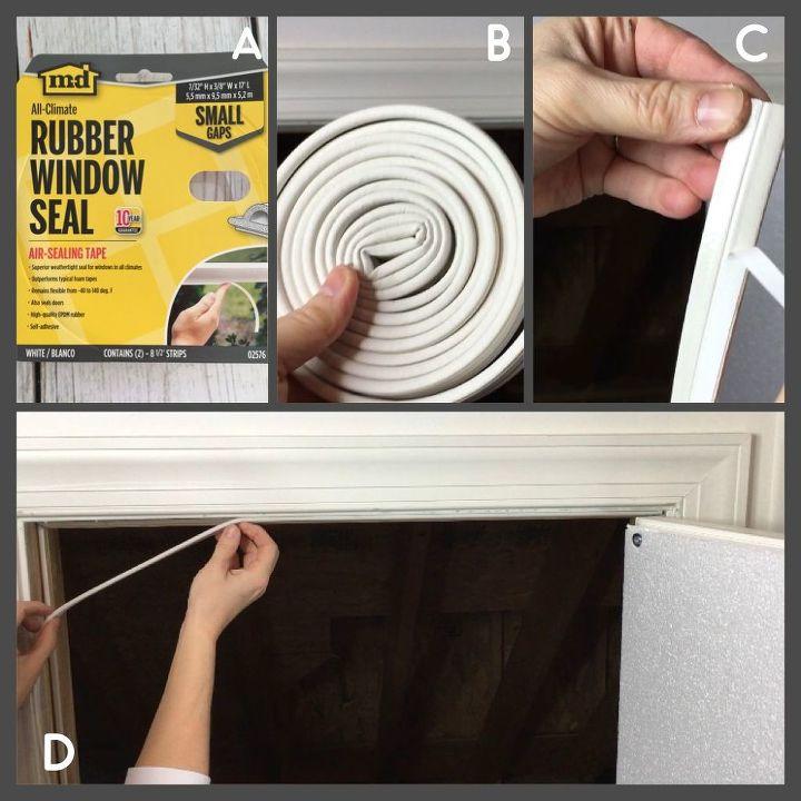 How To Insulate A Crawl E Attic Door Hometalk