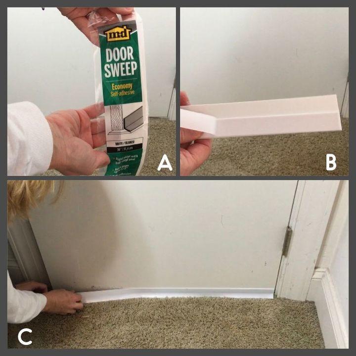 insulating an crawl space attic door