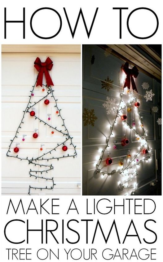 christmas garage door decorations videos tips and ideas