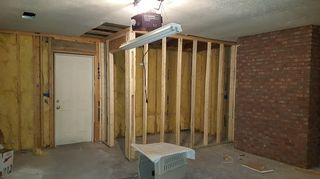 , Old garage getting new framing