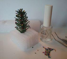 Miniature log cabin christmas ornament diy hometalk