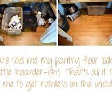 unclutter your kitchen