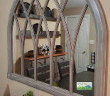 update an older cathedral arch mirror