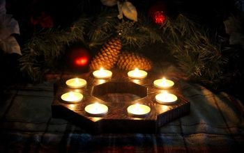 Bird's Mouth Votive Candle Holder