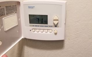 q how do i change a furnace thermostat