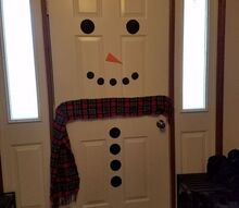 easy front door christmas decor
