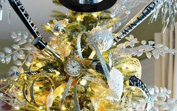 transform your christmas tree into a happy new year countdown tree