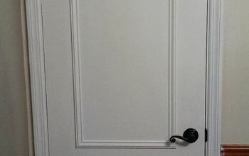 faux paneled door