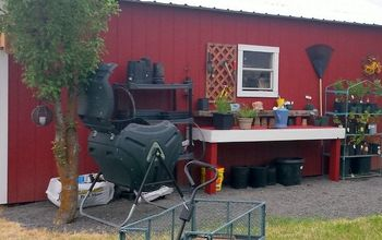 Total Makeover: Garden Shed, Potting Bench and a New Home for My Herbs