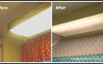 kitchen light budget makeover