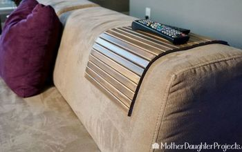DIY Flexible Sofa Wooden Tray