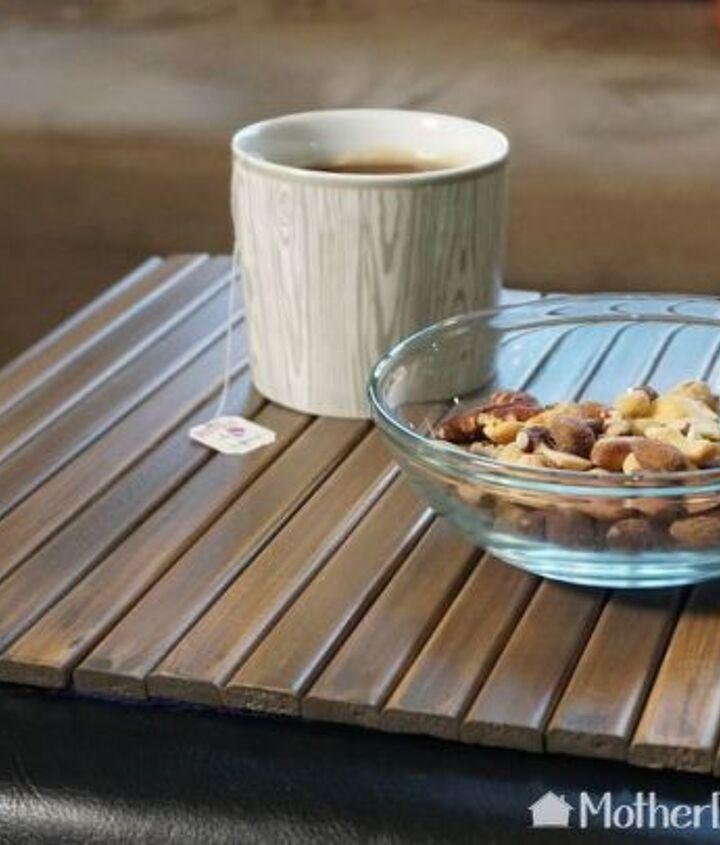 diy flexible sofa wooden tray