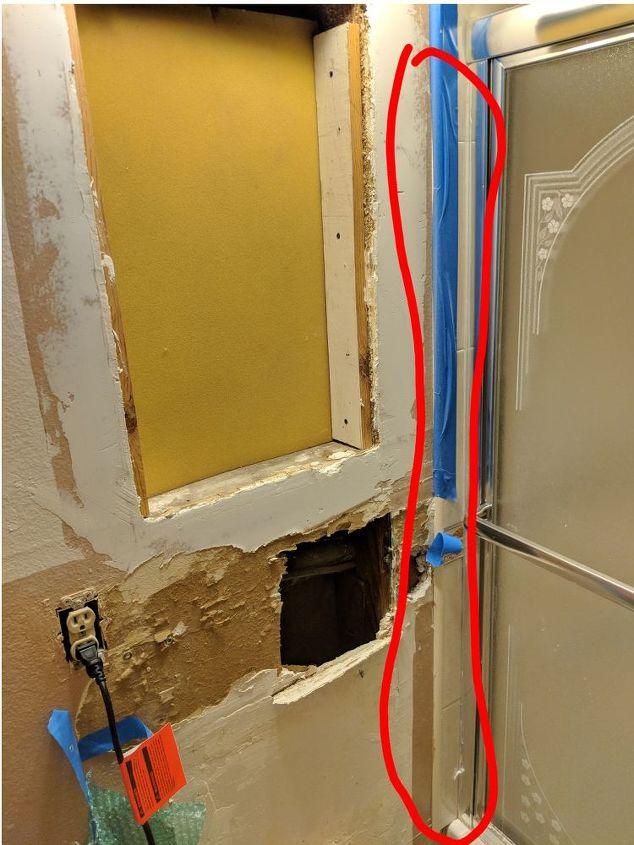 q bathroom drywall