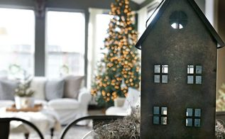 modern rustic holiday home tour 2017