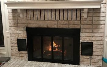 Fireplace Face Lift: From Old to Bold