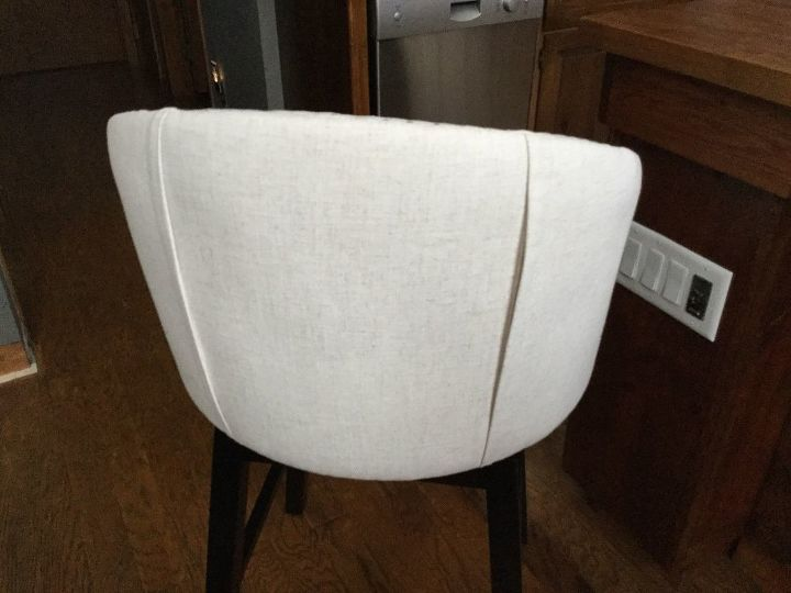 q can i safely dye my white fabric bar stools