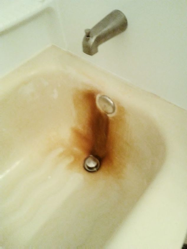 Hard Water Stains In Bathtub - Image Bathtub Collections
