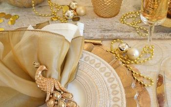 new year s eve gold and glam tablescape