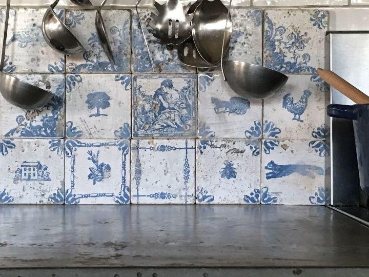 s 18 stunning backsplash ideas you do not want to miss, French Antiquity Tile Backsplash