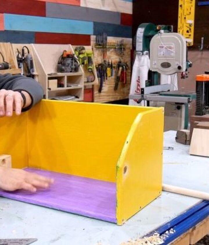 how to make a mardi gras ladder chair
