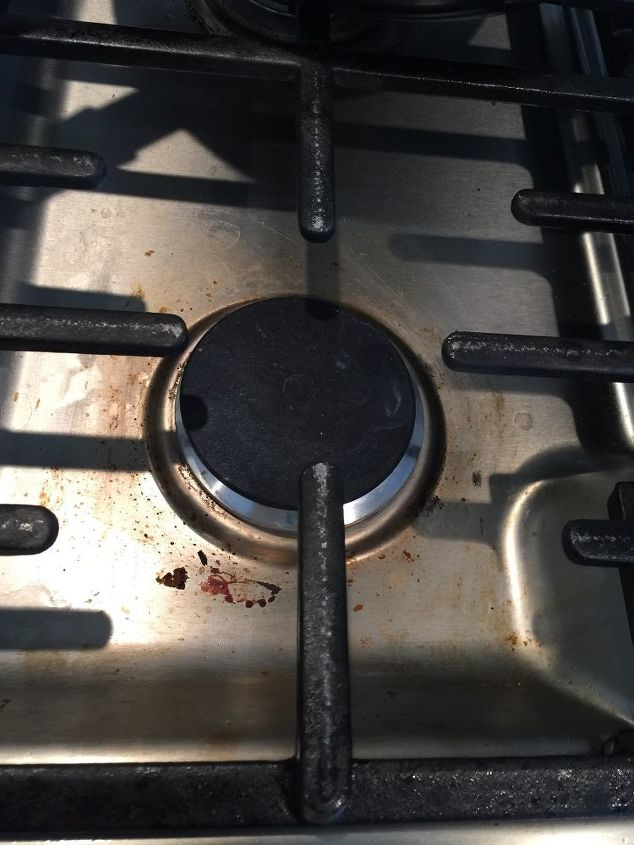 Stainless Steel Stove Top