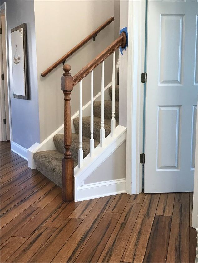 Banister Makeover With No Sanding or Stripping | Hometalk