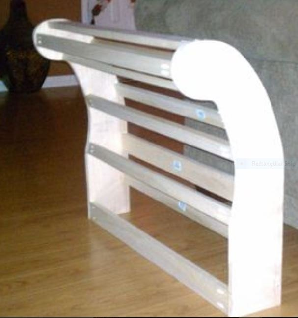 handmade chaise lounge from recycled materials