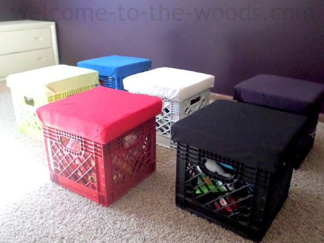 material of the week milk crates