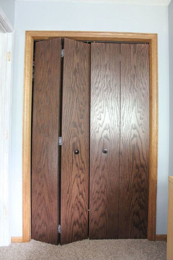 Heres How I Updated My Cheap Looking Bedroom Closet Doors For 20