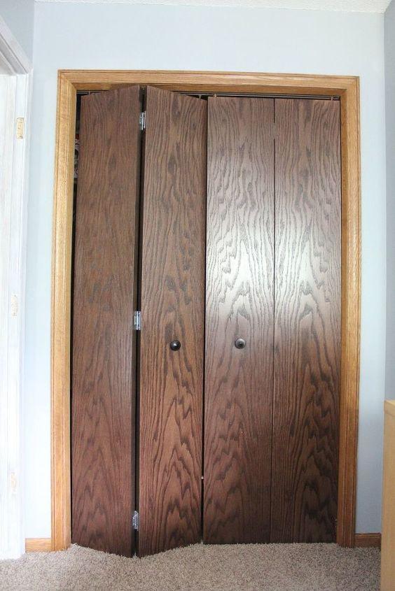 Closet Bifold Door Makeover Hometalk