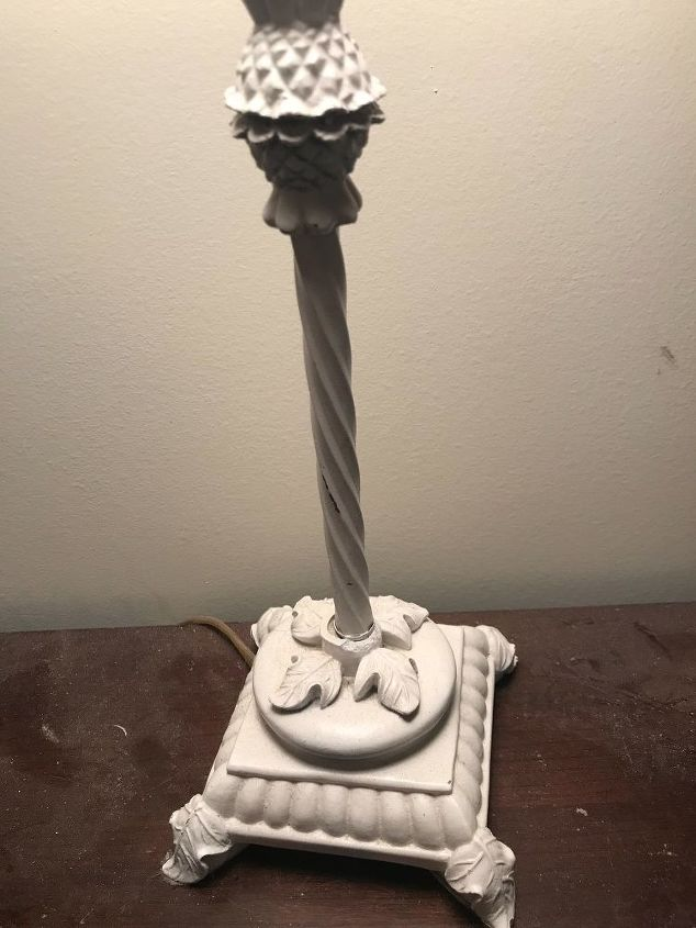 Base of the lamp
