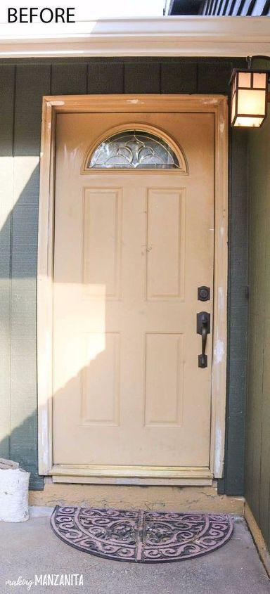 How To Transform Your Front Door In Just 2 Hours Hometalk