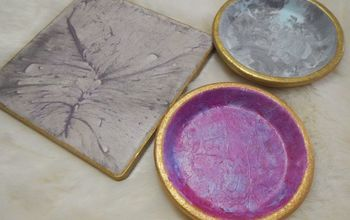 easy upscale and cheap coasters and trivet