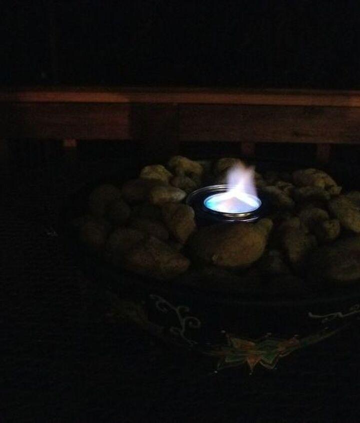 making a fire bowl