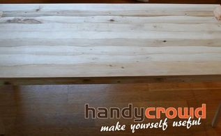 pallet wood coffee table with wavy edged planks, The finished Coffee Table