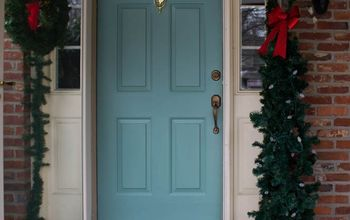Quick and Easy Front Door Makeover