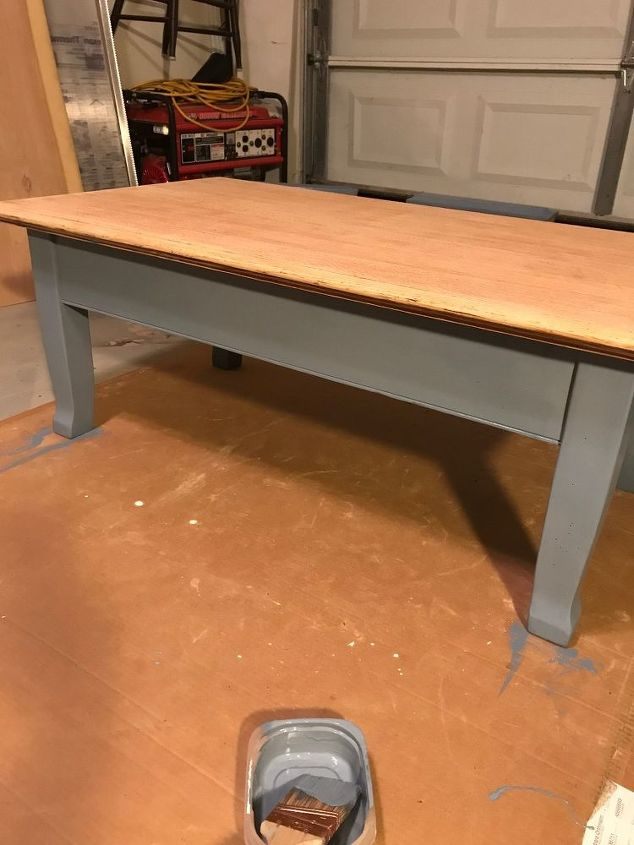 perked up coffee table