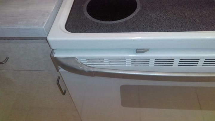 q it is possible to fix painting mistakes on appliances