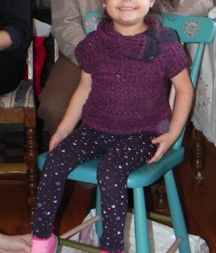 girl s chair makeover