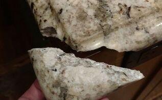q how can i repair a broken granite counter top