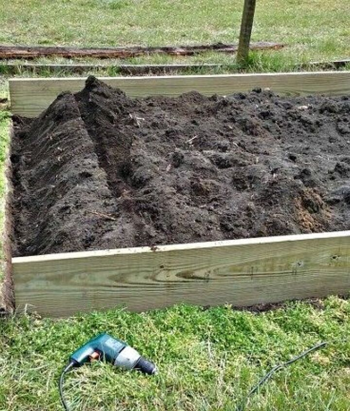 how to replace an existing raised garden bed