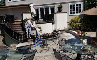 patio pond renovation in rye ny